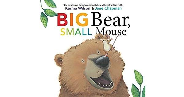 Amazon.com: Big Bear, Small Mouse (The Bear Books ...