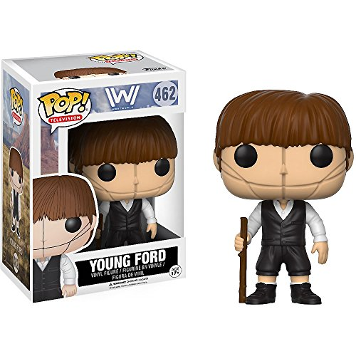 opikwuhefodtob Young Robert Ford: Funko POP! TV x Westworld Vinyl Figure + 1 Free American TV Themed Trading Card Bundle (14258)