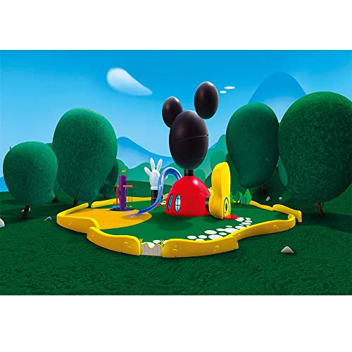 - Mickey Mouse Clubhouse Background Vinyl Photography Backdrop Newborn 7x5ft Happy Birthday Disneyland to Kids Seamless Photo Background Backdrop Party Decor