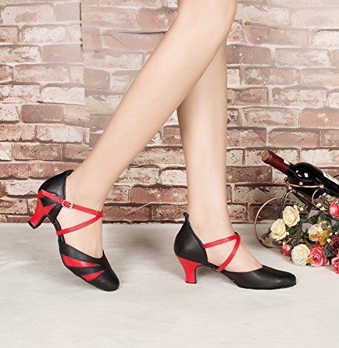 Miyoopark Salle 6cm de femme Black heel bal rrBqCxwaz