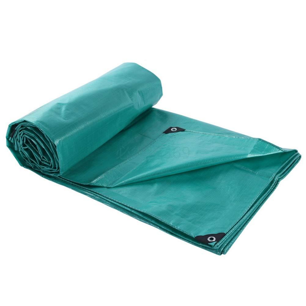 All'aperto di Spessore Telone Impermeabile Impermeabile Panno Oxford Panno di Plastica Anti età Telone Camion Protezione Solare GAOFENG (colore   Grass verde, Dimensioni   5  5M)