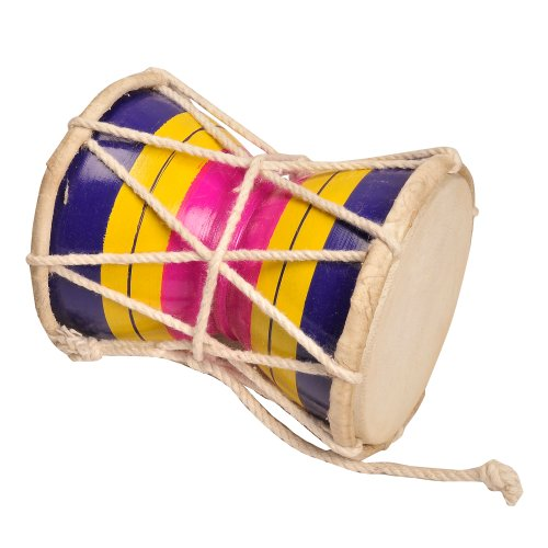 Damaru Indian Music Instrument Hand Percussion Hinduism by ShalinIndia
