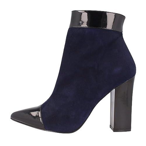 438b4591ecfa2 Roberto Botella Botines Azul Marino EU 35  Amazon.es  Zapatos y complementos