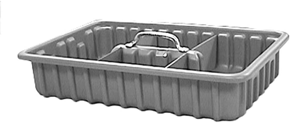 """Tool Tote Tray, 9"""" x 15"""" x 3"""" with 6 Dividers"""