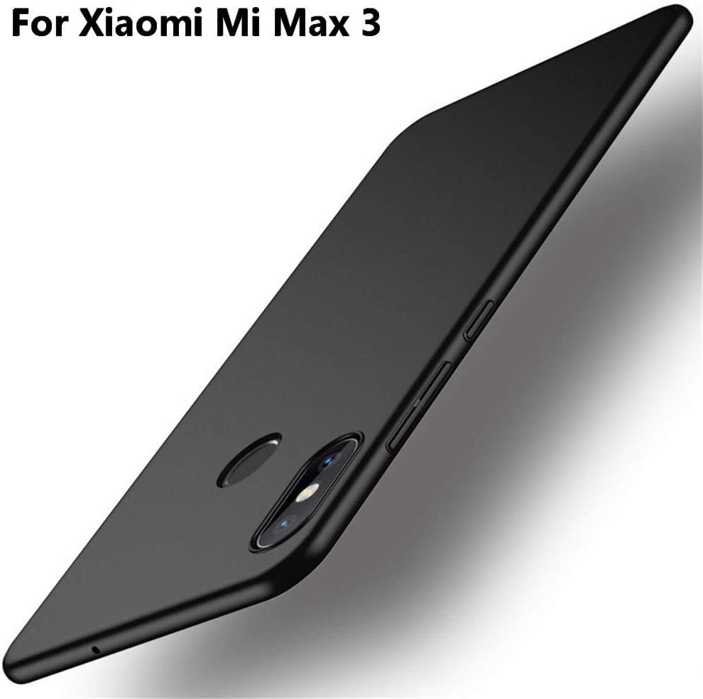 XunEda Funda Xiaomi Mi MAX 3 6.9 Ultra-Delgada Antideslizante Mate ...