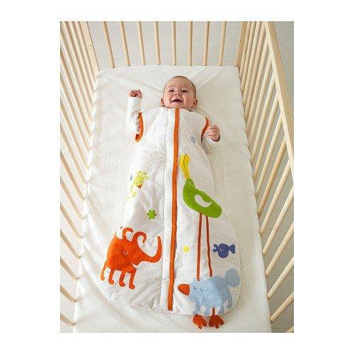 Ikea dasig - Saco de dormir para bebé en color marrón rojizo; (84 cm): Amazon.es: Hogar