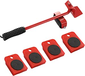 Ubei Upgrade Heavy Duty Furniture Lifter with 4 Sliders Heavy Furniture Moving Tools Move Transport Set for Bulky & Heavy Loads in Home, Shop or Garage