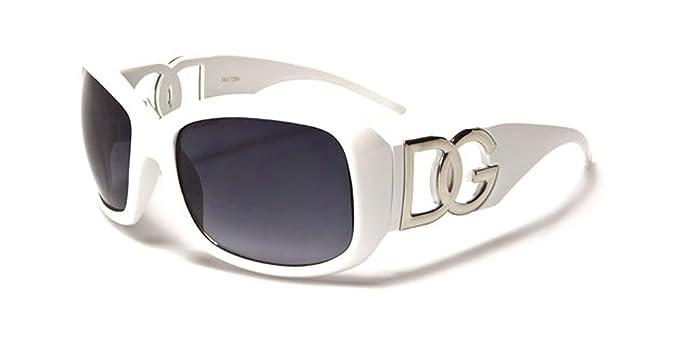 DG Eyewear - Lunette de soleil - Femme blanc blanc  Amazon.fr ... cc941873eada