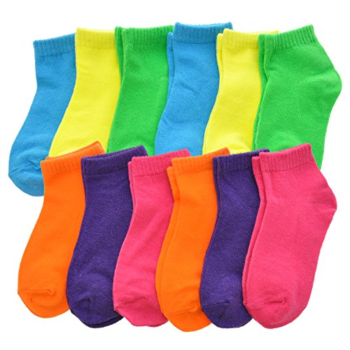 (Angelina Cotton Low Cut Trainer Socks (12-Pack) 2305_C_1-3)
