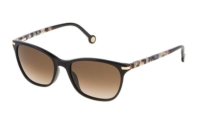 Carolina Herrera SHE652V540700 Gafas de Sol, Negro, 54 para ...