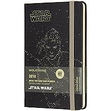 Agenda Semanal 12 Meses, Edição Limitada, Star Wars Rey, Capa Dura, Tamanho Bolso