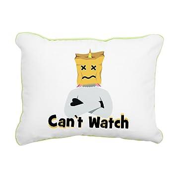 Amazon.com: CafePress – Emoji unicornio no puede – Almohada ...