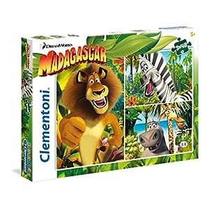 Clementoni Madagascar Supercolor Puzzle 3 X 48 Pezzi 25207