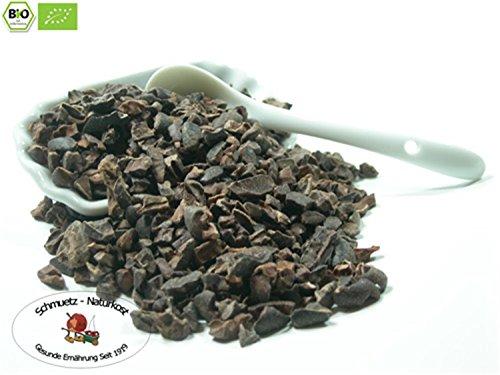 Bio Kakao Nibs in Rohkostqualität Sorte: Criollo 1000g von Schmütz-Naturkost