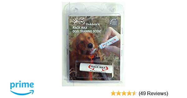 Dokken's Rack Wax Dog Training Scent,  15 Ounce (4 25 Grams)