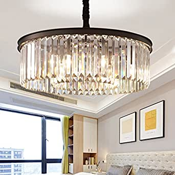 Meelighting Crystal Chandeliers Modern Contemporary Ceiling Lights ...