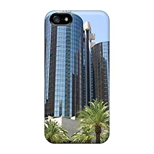 First-class Case Cover For Iphone 5/5s Dual Protection Cover Down Town La