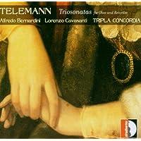 Telemann: Triosonaten für Oboe und Blockflöte
