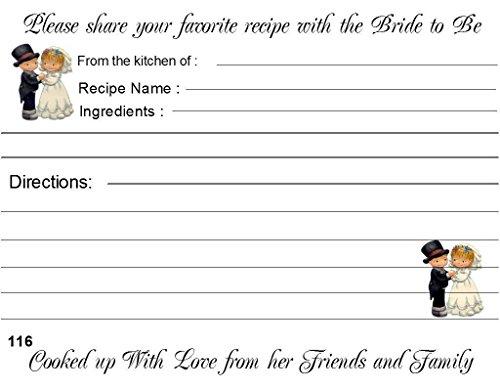 Precious Wedding Favors Moments (Wedding Recipe Cards Precious Moments Design 40 Cards)