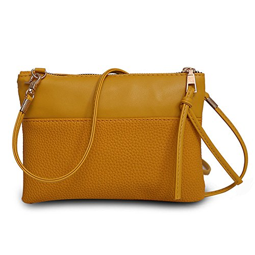 Liraly Women Bags Women Messenger Bags Slim Crossbody Shoulder Bags Handbag Small Body Bags Crossbody Shoulder Bags Mobile Phone Package (Brown) ()