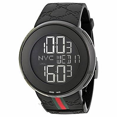 Gucci Gucci -Gucci 114 Mens digital Reloj YA114207: goldia: Amazon.es: Joyería