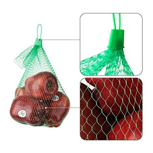 glotech red mesh produce bags for fruits vegetables seafood pack of 50 buy online in uae. Black Bedroom Furniture Sets. Home Design Ideas