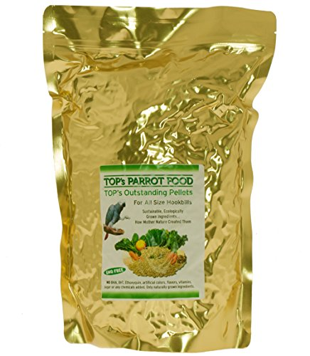 TOP's All-Natural Bird Pellets for Parrots 10lb by TOP's Parrot Food