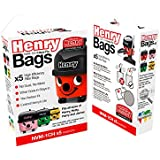 Henry NVM-1CH/907076 HepaFlo Vacuum Bags, Other, White