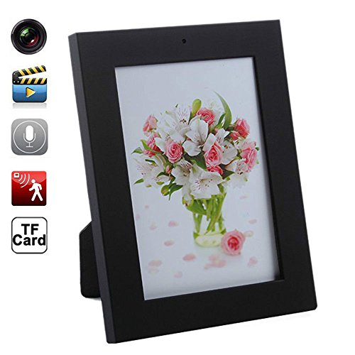 fannuoyi Photo Frame Camera HD Recorder - Motion Detection Cam (with 16GB memory card) by fannuoyi