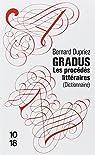 Gradus, les procédés littéraires par Dupriez