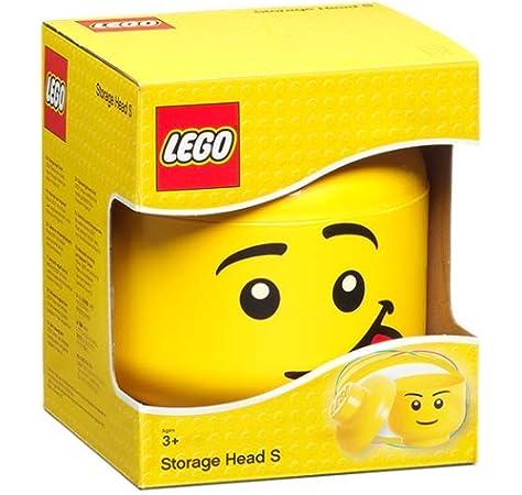 LEGO - Caja de almacenamiento con forma de cabeza de chica (Room Copenhagen A/S 40311222) , color/modelo surtido: Amazon.es: Juguetes y juegos