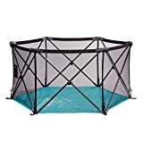 Summer Infant Pop n' Play Portable Playard, Tropical Turquoise, One Size