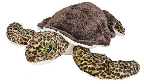 Wild Republic Sea Turtle Plush, Stuffed Animal, Plush Toy, Gifts for Kids, Cuddlekins 12 Inches
