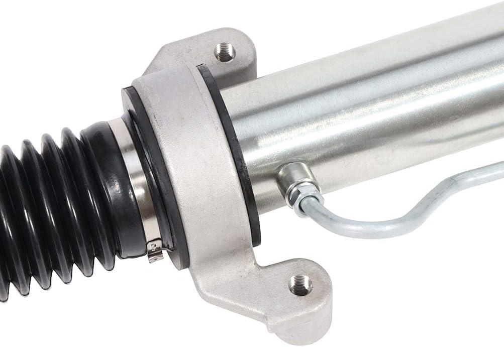 Power Steering Rack and Pinion Unit Applicable for 2007-2014 Cadillac Escalade 2007-2014 Cadillac Escalade ESV 2007-2014 Chevrolet Silverado 1500