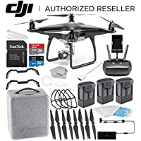 DJI Phantom 4 PRO Obsidian Edition Drone Quadcopter (Black) Ultimate Bundle