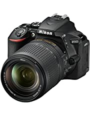 Nikon D5600 Digital SLR Camera with VR Lens, Black, 18-140mm