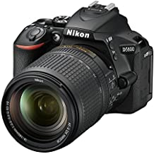 Nikon 1577 D5600 DX-format Digital SLR with AF-S DX NIKKOR 18-140mm f/3.5-5.6G ED VR Lens, Black