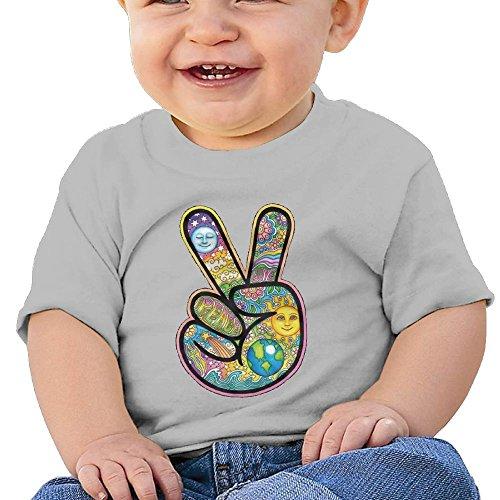 Ttgjidjo-q Baby V Peace Sign Victory Hand Breathability T Shirt 18 Months Peace Maternity Tee