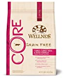 Wellness CORE Grain Free Turkey Meal and Duck Formula Pet Food Bag, 5-Pound, 14-Ounce, My Pet Supplies