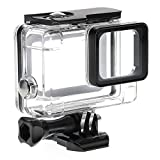 KAMISAFE 45M Underwater Waterproof Dive Protective Housing Case Cover for GoPro Hero5 Black Action Camera