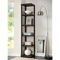 ACME Mileta Cappuccino Bookcase