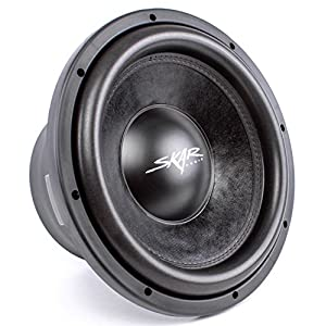 Skar Audio DDX-12 D2 Dual Max Power Car Subwoofer, 1500W, 2 Ohms