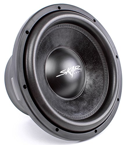 Skar Audio DDX-12 D4 1500 Watt Max Power Car Subwoofer, 4...