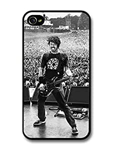 AMAF ? Accessories Dave Grohl Foo Fighters Black and White Live Concert case for iPhone 4 4S