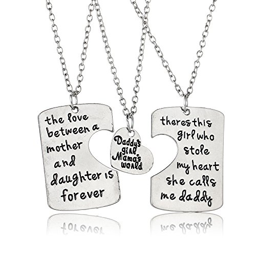 Father Pendant Necklace Jewelry Daughter