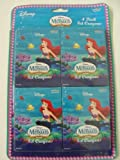 : Disney Princess The Little Mermaid Crayon - 4pk 8ct Crayon Set