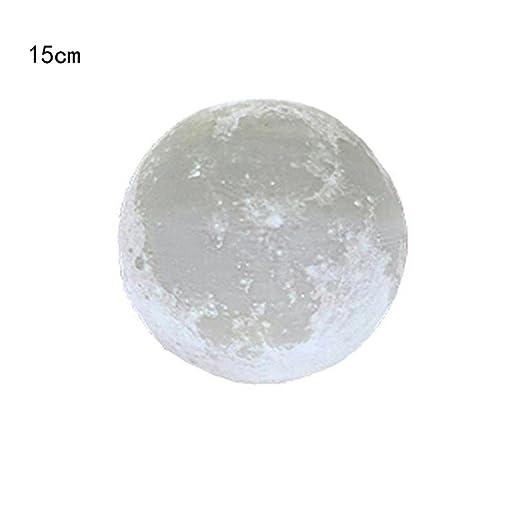 lisin decoración noche luces, 3d usb mano Shot luces luna luz ...