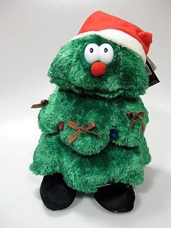 Singing & Dancing Rocking Christmas Tree Stuffed Toy: Amazon.co.uk ...