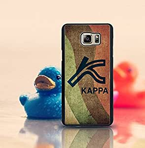 Personalized Note 5 Funda Case Kappa Logo Of Popular Brand Classical Design Special [Scratch-Proof] Hard Plastic Back Cover Skin Shell Classical Style Compatible With Samsung Galaxy Note 5