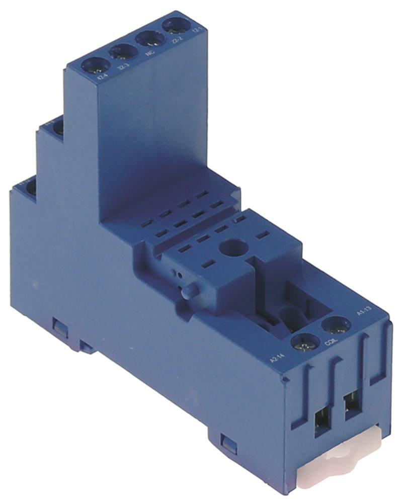 Finder 94.94.3 Base de relais /à 4 broches 250 V AC 76 x 27 x 86 cm 1 mm